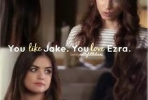 Ian and Lucy- Team Ezria