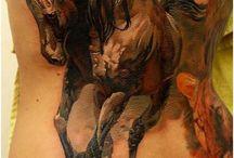 Ukázky tetování