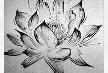 Tetovanie S Motívom Lotosového Kvetu