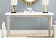 console tables/sideboards