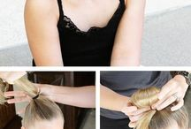 stylish hairstyles-updo for lazy days!!