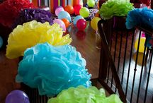 Sweet party ideas / Ideas on how to make your children birthday parties more fun and special