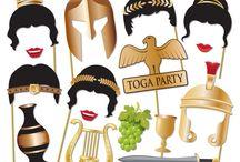 Řecká party