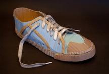 Cardboard Shoes