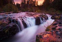 Речные перекаты, водопады