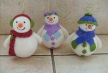 Porcelana Fria Navidad- Christmas Cold Porcelain / cold porcelain, porcelana fría, biscuit, pasta francesa, polymer clay , porcelana froide,  Polimero, Porcelana Rusa SNOWMAN, balls, shoes,