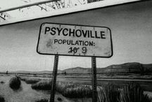Story idea - Psychoville / Village full of psychologically ill people (trapped there from the past and the future, as well as present)