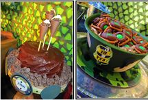 Camo Birthday Party Ideas / by Melissa Scott