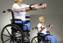 Easy Wheelchair Exercises / Being in a wheelchair doesn't mean you can't exercise! Here are some fun wheelchair exercises for those with disabilities or mobility problems.
