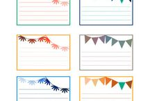Fonts & Printables / by Camille Winona