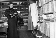 Vintage Library Pictures