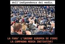 Perché firmare Media Initiative? / Un milione di firme per liberare l'informazione.