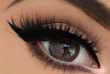 Schminke Augen