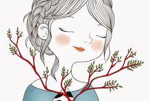 ilustraciones women