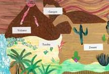 Landforms/Habitats  / by Melissa King