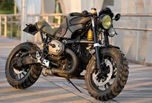 Scrambler's, and post apocalyptic bikes