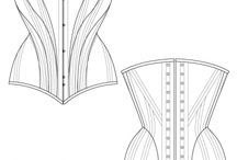 Korsetti ja alusvaatteet / Underwear, corset and so on..