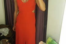 красное платье топшоп