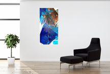 """Kunst mit Öl & Acryl / Kreativität ist wirklich nichts unfassbar Schwieriges oder Geheimnisvolles […] Jeder, der denken kann, ist auch fähig, Ideen zu haben."""""""