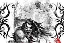 Comic art & illustration