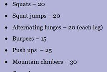 At-Home Workouts / by Victoria Newell