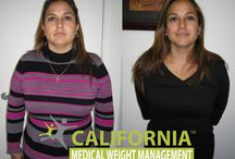 Before And After CalMWM / Actual before-and-after patient photos from California Medical Weight Management