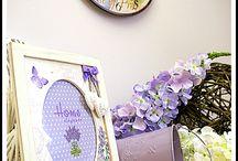 Wielkanocny fiolet / A gdyby tak poczuć klimat prowansji w domu? :) Fiolet we wnętrzu jest niezwykle urokliwy zwłaszcza w postaci dodatków. My wybraliśmy wersję pastelową, delikatną i romantyczną.