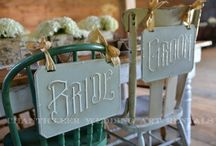 Rent this from us! / Shabby Vintage, Upscale Rustic, & Elegant French. Let us accent the look of your special day.
