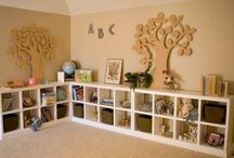 Play room ideas / by Rebecca Peters