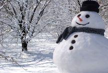 Снеговики - Snowman