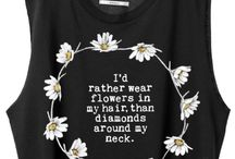Clothes / Crops shirt #beautiful