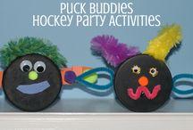 Gavin hockey party
