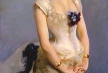 Mode för kvinnor, före 1950/Fashion for women, before 1950 / Så vackra kläder/So beautiful clothes / by Mahill