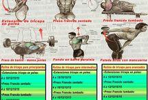 Ejercicios para brazos de acero / Rutina constructora para tríceps de acero, anti flacidez de brazos