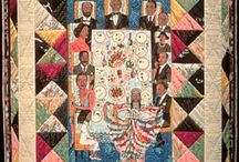 Faith Ringgold Art Lesson / by Corinthia Ussery
