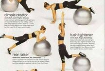 butt-cvičení s míčem