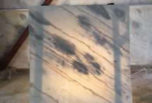 Marble of Skyros / Marble Slabs and cut to size material. Applications of Skyros Marble.