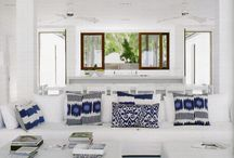Miami Blues / Blue & White Teen Bedroom
