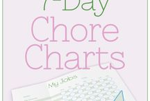 charts and printables
