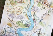 Maps/ sense of place