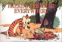 Calvin and Hobbes / by New Rose Images