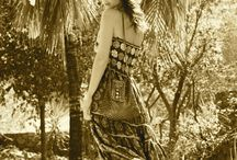 Autumn colors Lolita Jaca / silk babel black