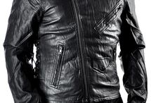 Mens Pleather Jacket / Pleather Male Jackets
