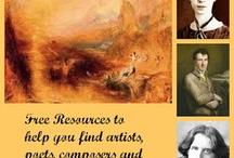 Art Appreciation / elements of art, art history, materials & techniques etc / by Lauren Caudle