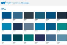 Blauw / Verf-Voordeel   Laat u inspireren door verschillende tinten blauw!  #Kleur #Wonen #Inspiratie #Interieur #Blauw #Verfvoordeel