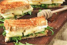 sándwich calientes y salados