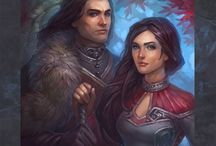 asoiaf books / Fanarts of  a song of ice and fire novels,the appearance of characters is mostly book based. warning: There may be some spoilers. / by Jasminalefay