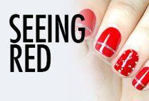 Red Nail Art & Nail Designs