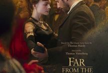 Far From the Madding Crowd (2015) / Film Adaptation of Thomas Hardy's novel ~ In Victorian England, the independent and headstrong Bathsheba Everdene attracts three very different suitors: Gabriel Oak, a sheep farmer; Frank Troy, a reckless Sergeant; and William Boldwood, a prosperous and mature bachelor.