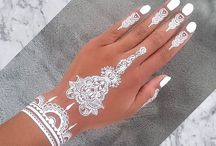 Henna / Here are some henna tattoos